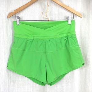 Lululemon Green Lined Shorts Run